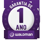 Garantia de 1 ano Waldman