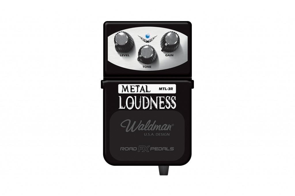 Waldman Pedal Metal Loudness MTL-3R