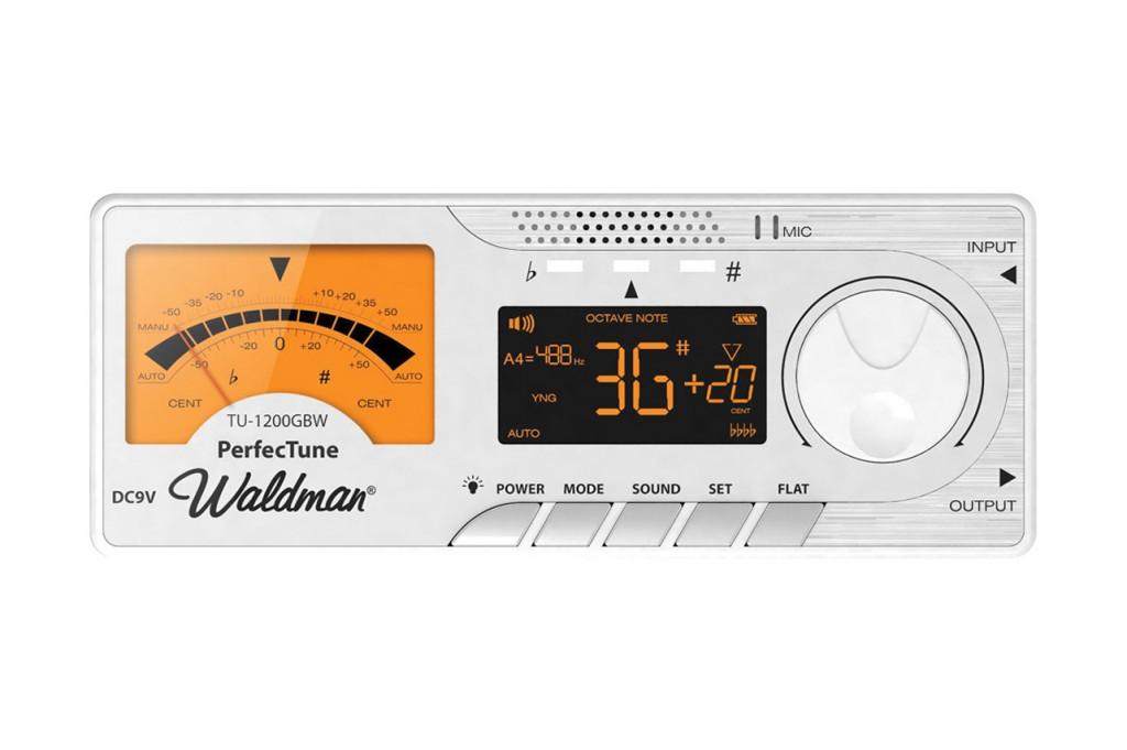 Waldman - Afinador PerfecTune TU-1200GBW