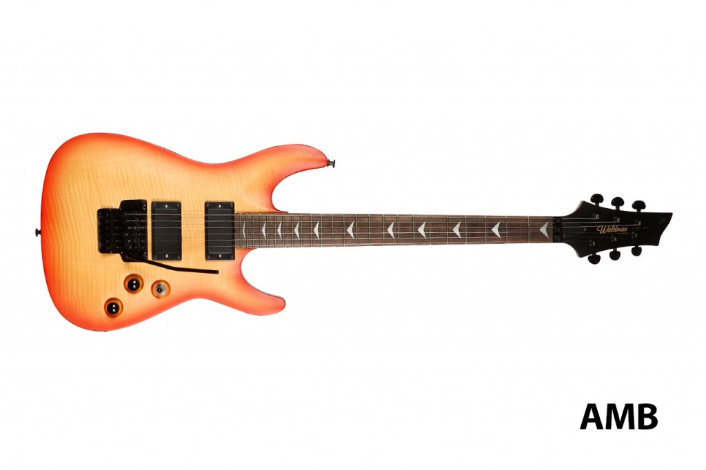 Waldman Guitarra Sólida Scandal Flamish Plus GSC_600F