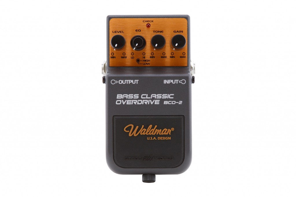 Waldman - Pedal Bass Classic Overdrive BCO-2