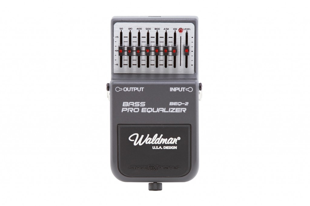 Waldman - Pedal Bass Pro Equalizer BEQ-2