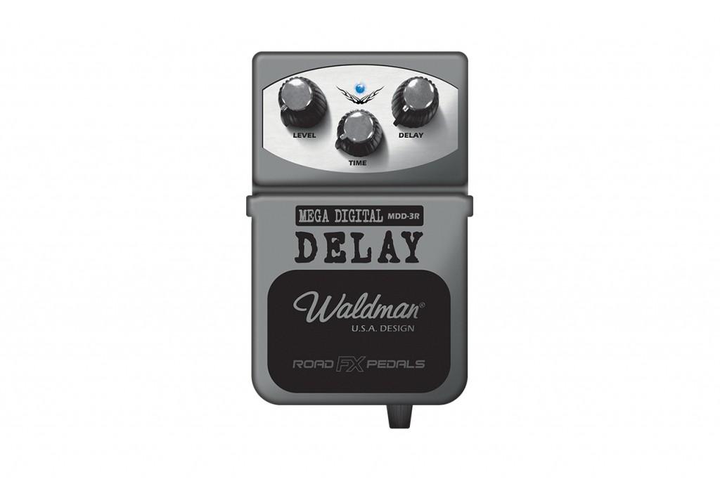 Waldman Pedal Mega Digital Delay MDD-3R