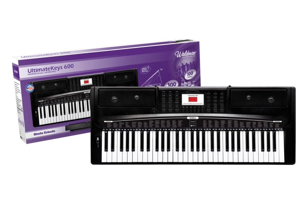 Waldman Teclado UltimateKeys 600 UK-600