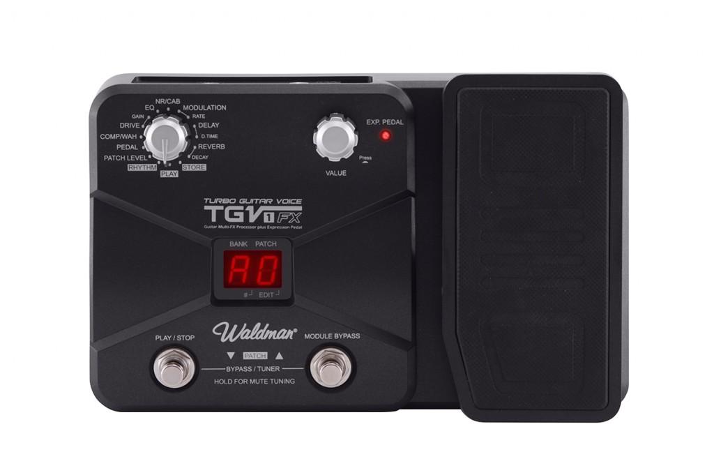 Waldman - Pedaleira Turbo Guitar Voice TGV-1FX